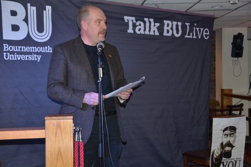 Talk BU Live commemorates the First World War