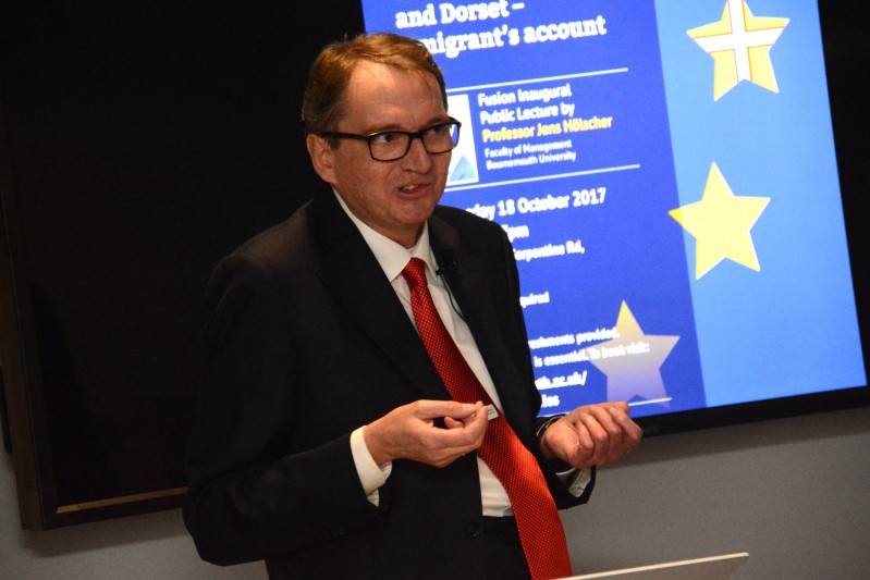 Professor Jens Holscher talks about Brexit