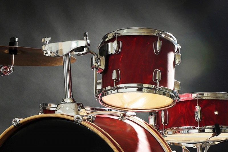 image of a drum kit