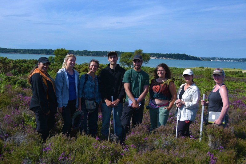Ecology and Wildlife Conservation students in the Purbecks