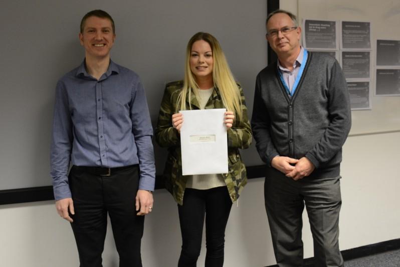 Ede and Ravenscroft prize winner