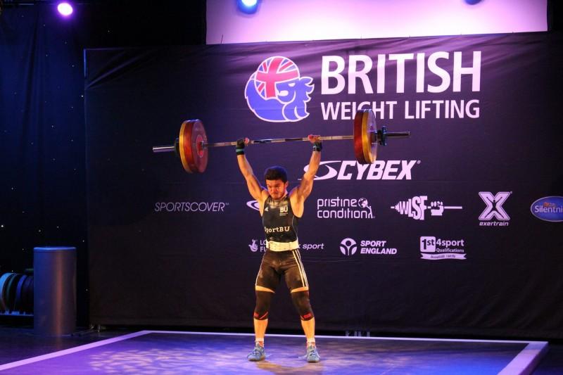 Elliot Brown - weightlifting