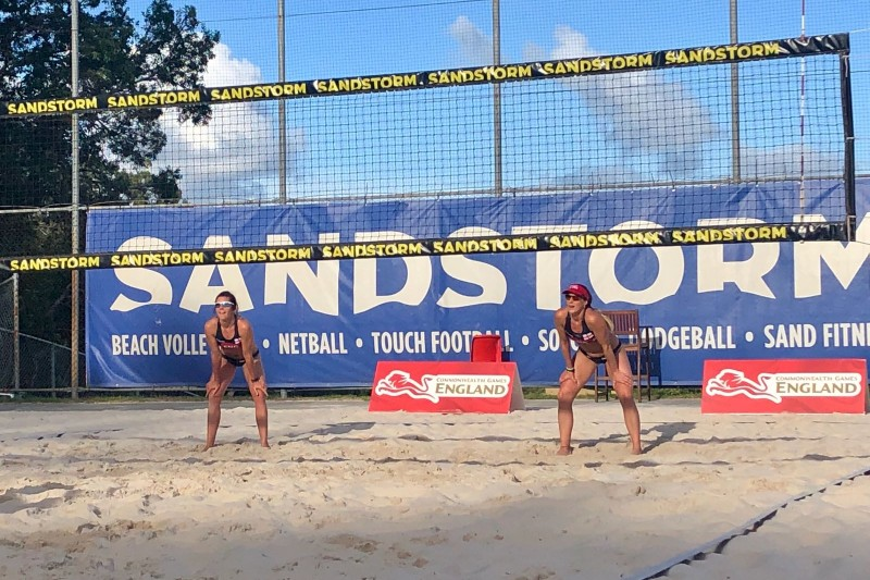 England beach volleyball team