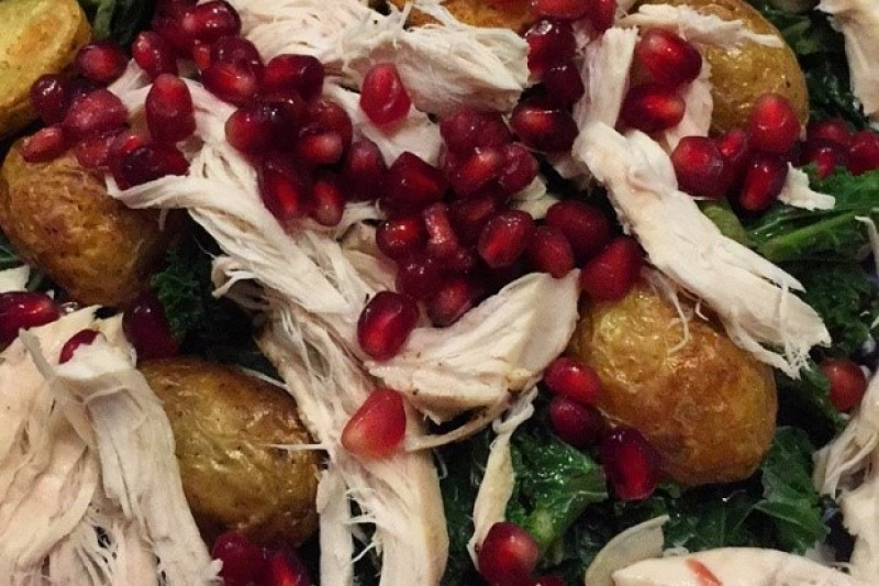 The healthier side to our festive treats and a healthy leftovers recipe