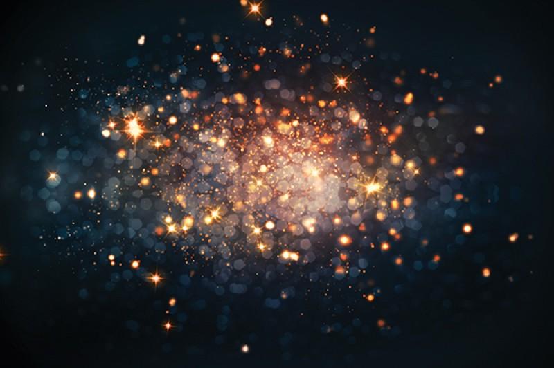 Cluster of sparks