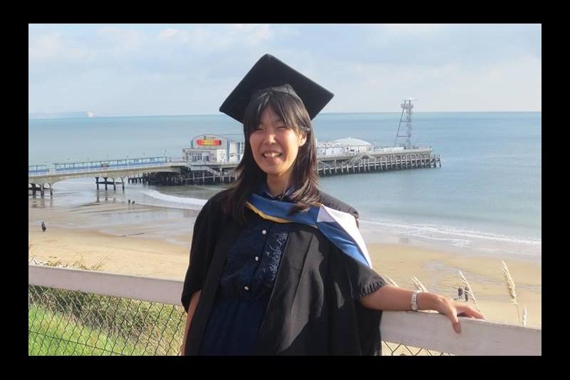 Maiko on graduation day