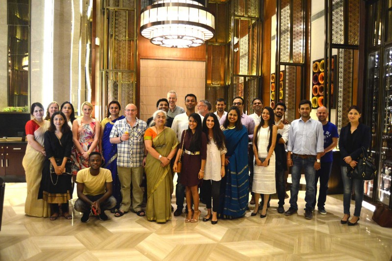 Alumni dinner at Global Festival of Learning India