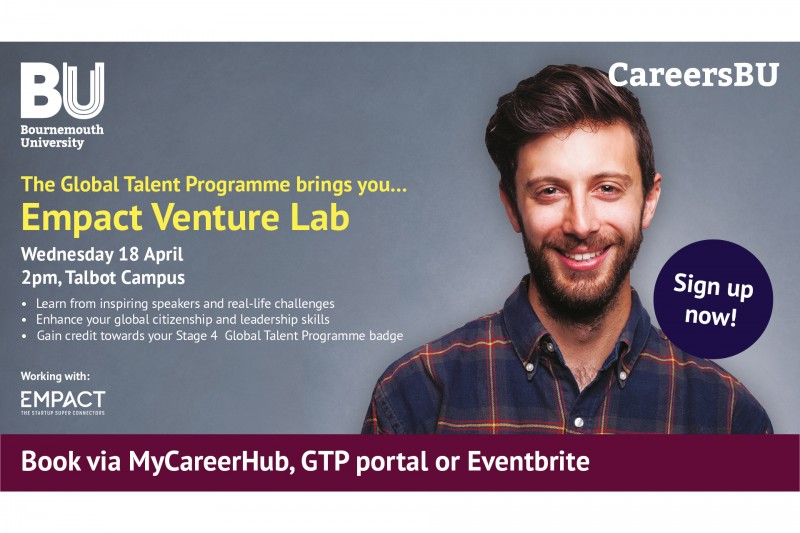 The Venture Lab comes to BU: 18 April