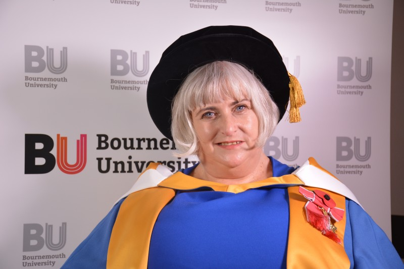 Honorary Graduate Gail Adams OBE