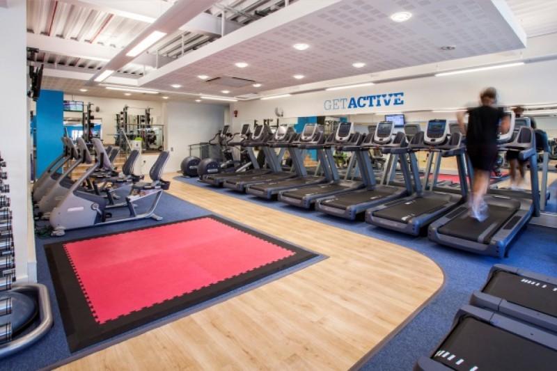 SportBU running machines at the gym