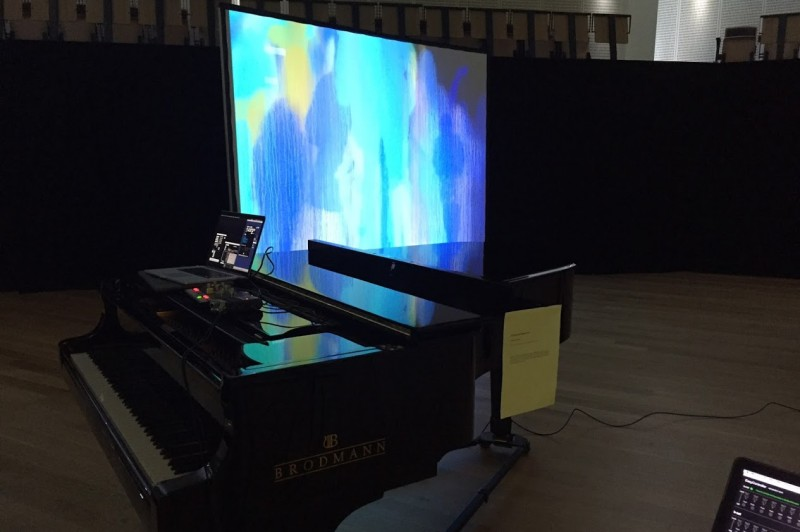 HCI conference display