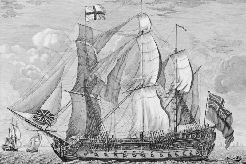 HMS Invincible 1744
