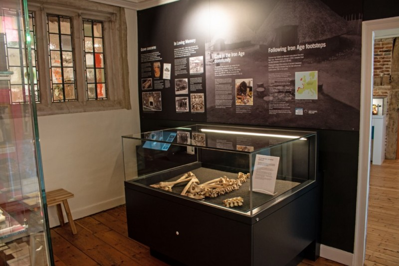 Earliest known case of TB in Britain on display in Wimborne