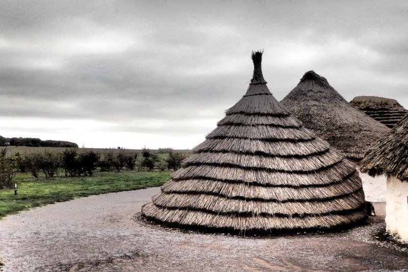Huts at Stonehenge