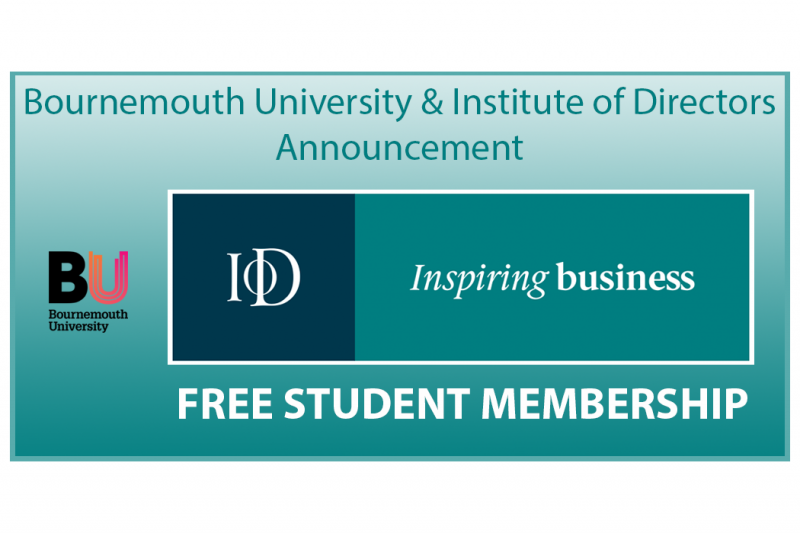 Apply for free student membership of the Institute Of Directors