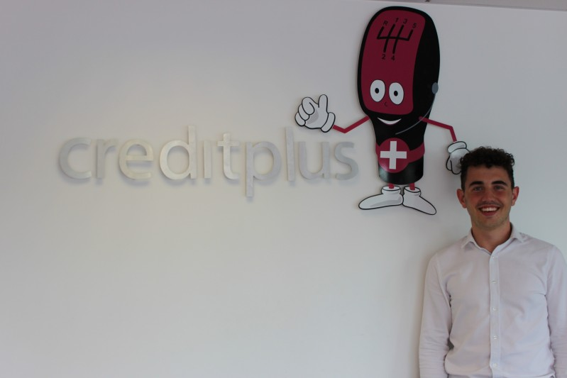 Jack Clarke at placement company Creditplus