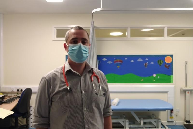 James Cook, BSc (Hons) Nursing graduate