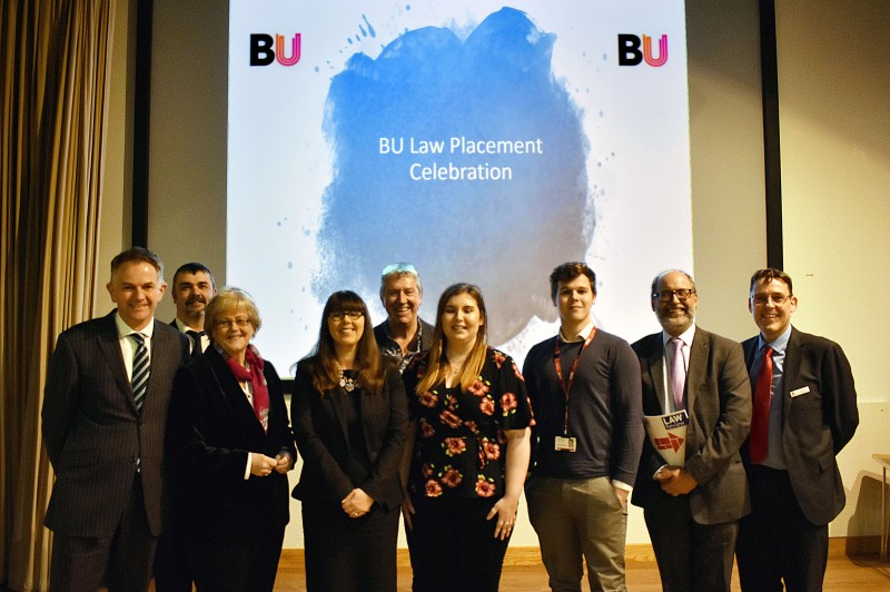 Department of Law celebrate placement success