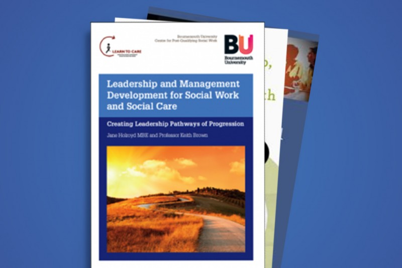Leadership and Management Development for Social Work and Social Care promo