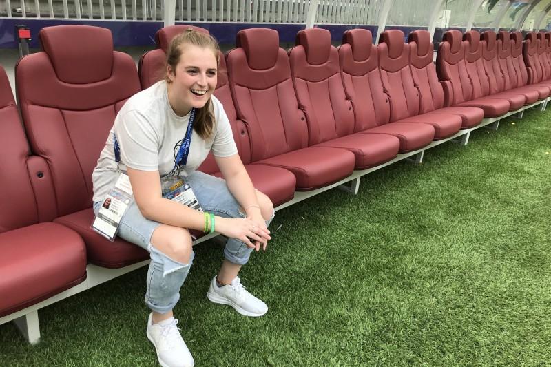 Megan Bennett World Cup 1