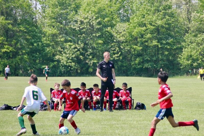 Michael Thompsett coaching on placement