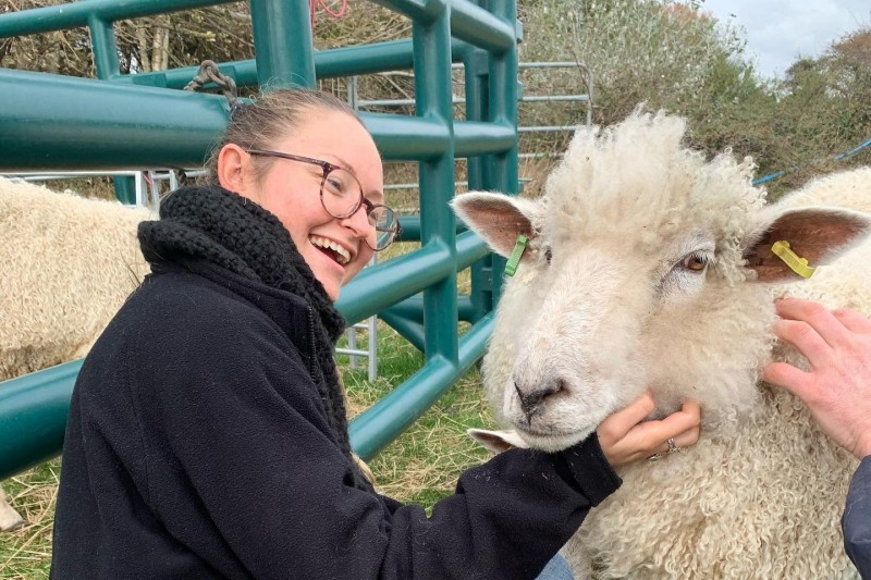 Mollie Taylor, MSc Biodiversity and Conversation student on placement