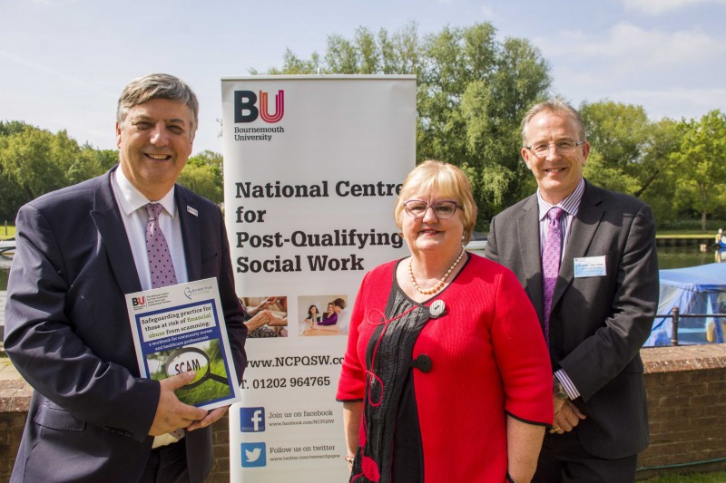 BU National Centre launches new book to combat scammers