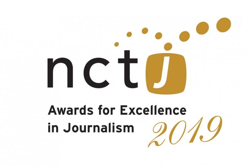 NCTJ awards 2019