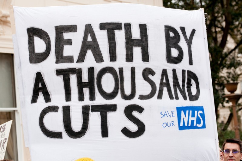 Britain's NHS is chronically underfunded, but great value for money ... for now