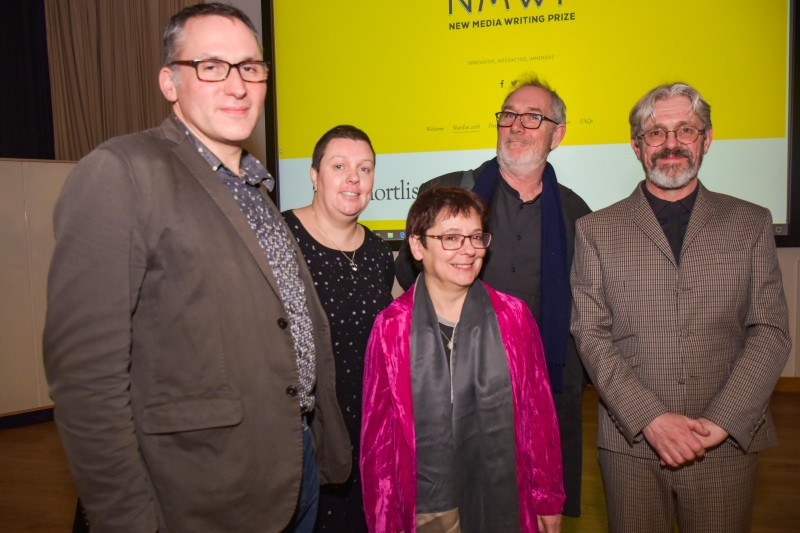 New Media Writing Prize winners announced