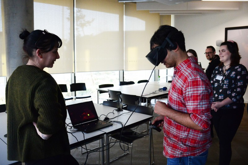 New Media Writing Prize and VR exhibition held at BU