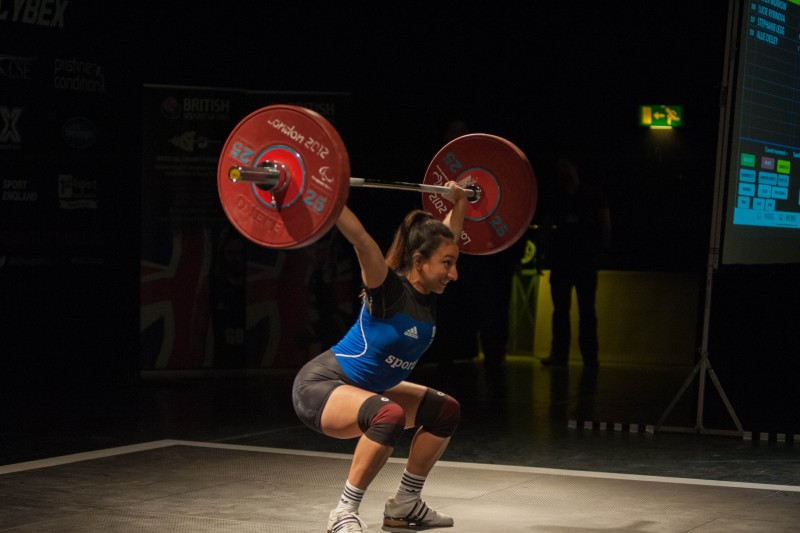 Noorin weightlifting record