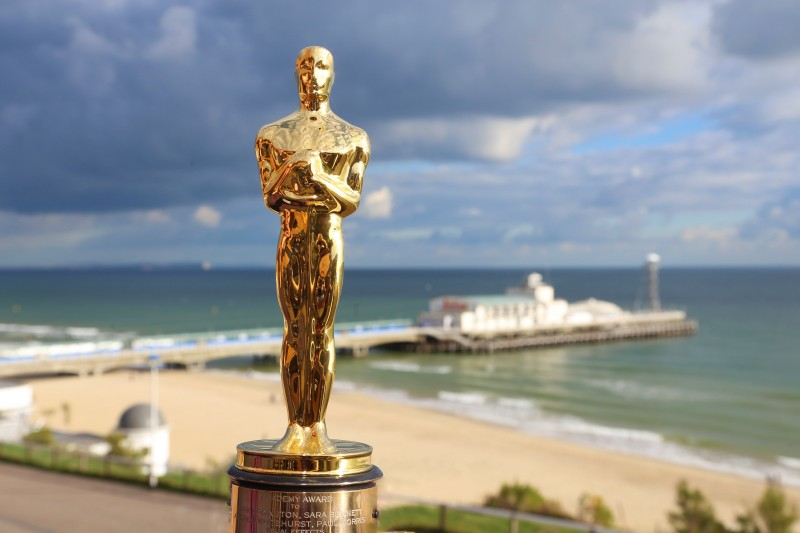 Oscar award at Bournemouth Pier