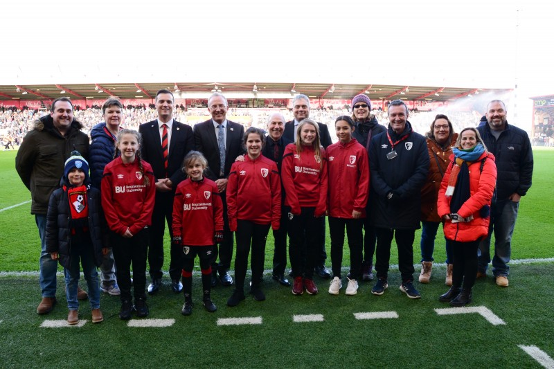 BU and AFC Bournemouth extend official partnership into eighth season