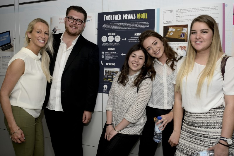 Brilliant Brilas Team Awarded Second Place in Euro Advertising Competition