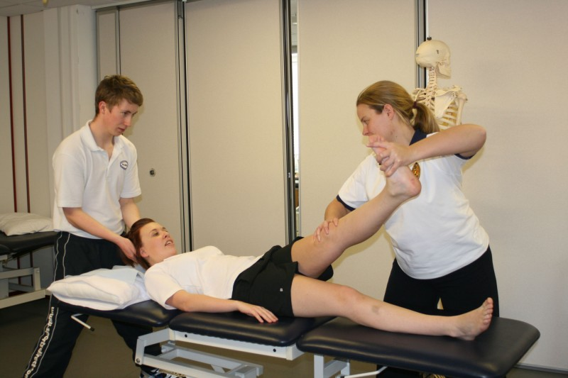 Physiotherapy suite