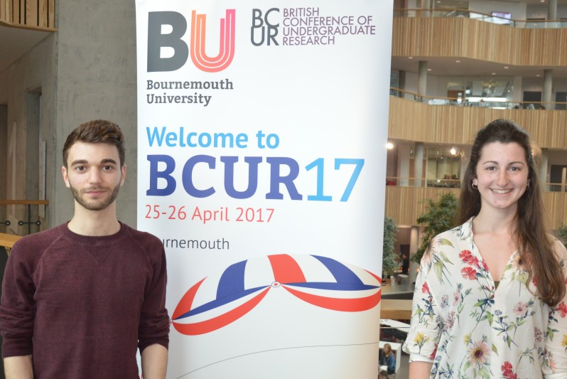 BU students present their work in Parliament