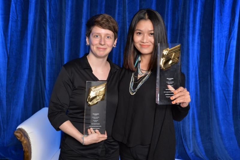BU students win national RTS Award