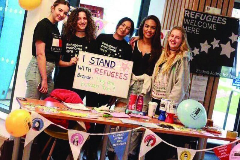 BU RAG Refugee campaign