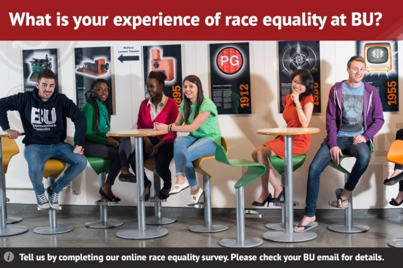 What is your experience of race equality at BU?