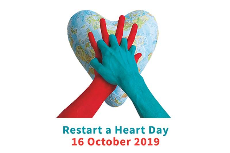 Restart a heart day logo