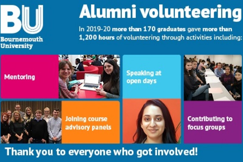 Thank you to our alumni volunteers