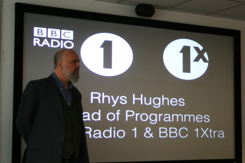 Alumni Q&A: Rhys Hughes, Head of Programmes at BBC Radio 1