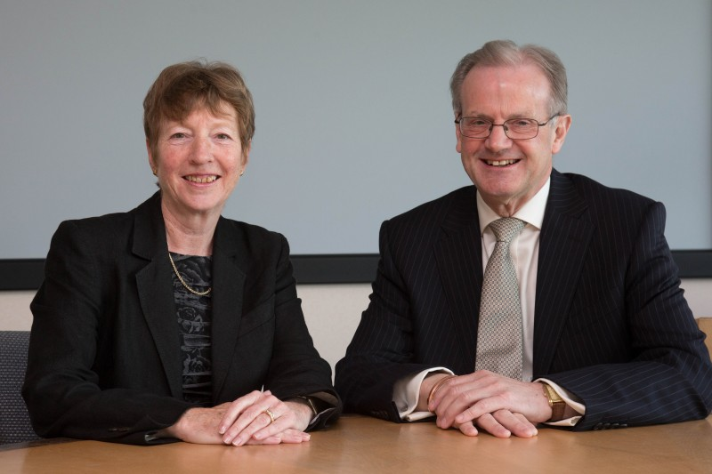 Richard Conder and Sue Sutherland