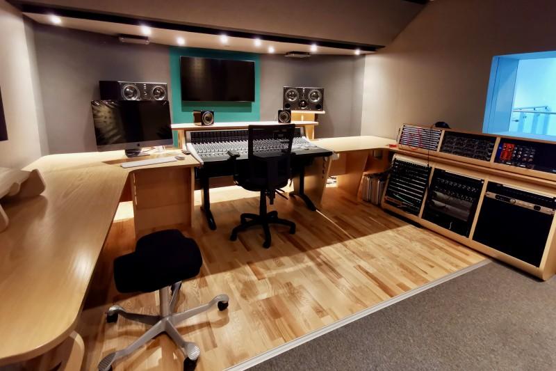 Picture of recording studio