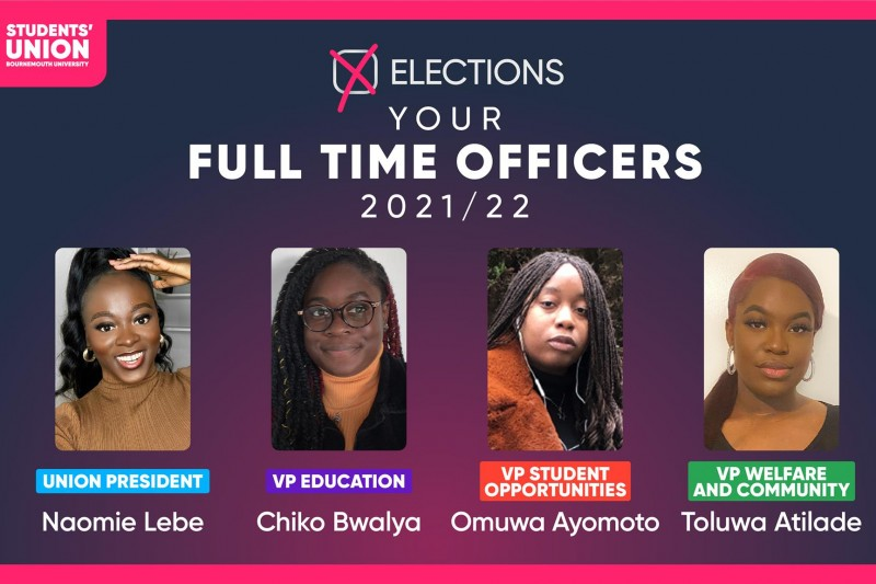 SUBU Full-Time Officers 2021-22