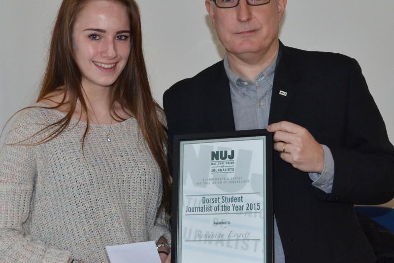 NUJ journalist award