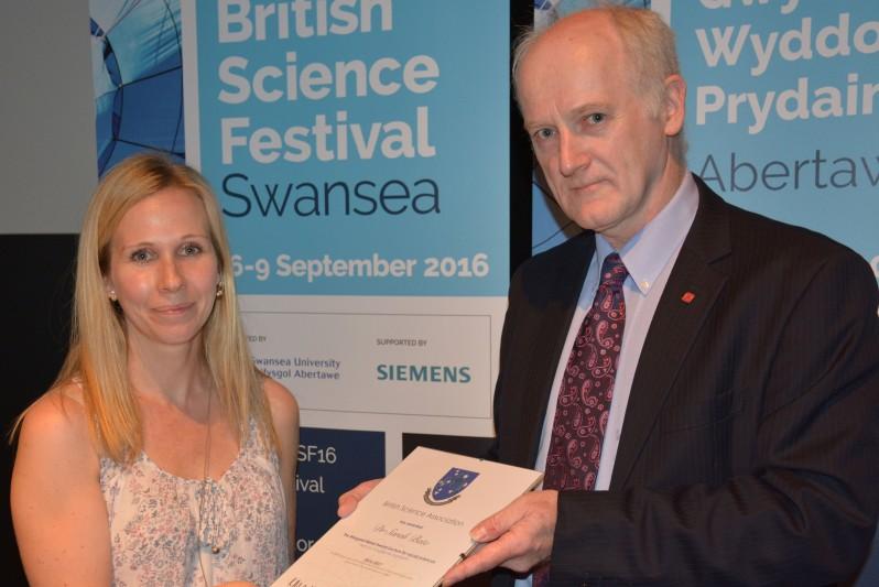 Sarah Bate British Science Festival
