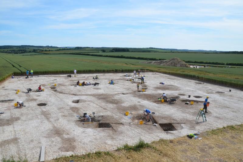 Big Dig site 2015