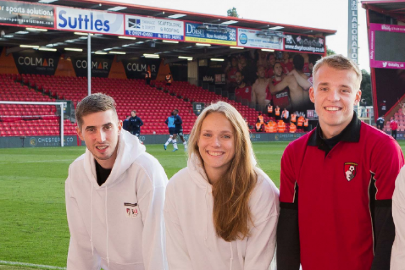 Student ambassadors at AFCB hero